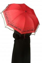 Kırmızı Çiçekli Şemsiye 284 351