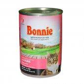 Bonnie Jöle İçinde Parçacıklı Kuzulu Kedi Konservesi 400 Gr