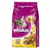 Whiskas Ciğerli Tavuklu Kuru Kedi Maması 1,4 Kg