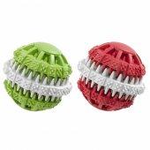 Ferplast Pa 6586 Köpekler İçin Kaukçuk Diş Oyuncağı Mavi Beyaz 8c