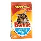Bonnie Seafood (Balıklı) Yetişkin Kuru Kedi Maması 350+150 Gr