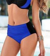 Mavi Siyah Bikini Alt