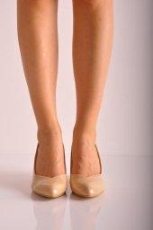 Bayan Günlük Feta Topuk Ayakkabı 223 Ten Rugan