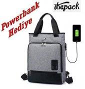 The Pack Tp2088 Sentinus Usb Bayan Yeşil Laptop Çantası