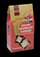 Organik Glutensiz Vegan Gevrekler Karışımı 250 G