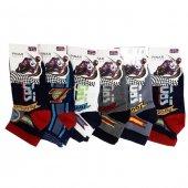 Ertuğ Erkek Çocuk Patik Kısa Çorap Asorti 12 Li Paket