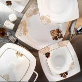 Kütahya Porselen Aliza 83 Parça Yemek Takımı 60106