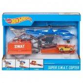 Hot Wheels Kurtarma Ekibi Oyun Seti Özel Birlik Helikopteri Fdw70
