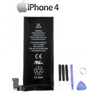 Apple İphone 4 Orjinal Batarya + 6lı Tamir Seti 1420 Mah