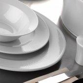 Kütahya Porselen Zümrüt 83 Parça Yemek Takımı Dekorsuz