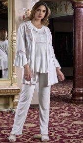 Koton İşlemeli Hamile Pijama Takım