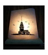 Istanbul Kız Kulesi Baskılı Tuz Lambası