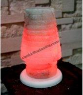 Kırmızı Abajur Tuz Lambası