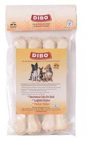 Dibo Beyaz Pres Köpek Ödül Kemiği 21 Cm 2 Li 300 G...