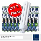 Müller Licht 13w 840 4 Pinli Enerji Tasarruflu Plc 20li Paket