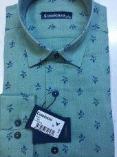 Comıenzo Çiçek Motifli Erkek Gömlek 40643