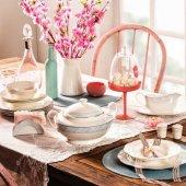 Korkmaz Pearl Finebone Porcelain Yemek Takımı A8253