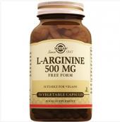 Solgar L Arginine 500 Mg 50 Vegetable Kapsul