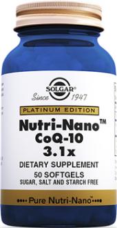 Solgar Nutri Nano Coq 10 3.1x 50 Softgel