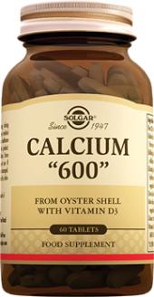 Solgar Calcium 600 Oyster Shell 60 Tablet