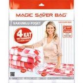 Magic Saver Bag 2li Jumbo Vakumlu Hurç Poşet Seti...