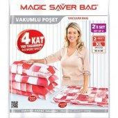Magic Saver Bag 2li Xlarge Vakumlu Hurç Poşet Seti