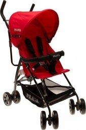 Prava Smart Tam Yatar Baston Bebek Arabası Kırmızı