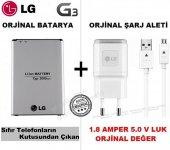 Lg G4 Orjinal Batarya Pil + Lg Orjinal Şarj Aleti Cihazı Set