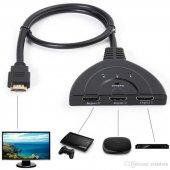 Hytech Hy Hsw30 3 Giriş 1 Çıkış Hdmı Swıtch Kablo