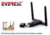 Everest Ewn 813n 300 Mbps Çift Bantlı (2.4ghz Or 5ghz) Usb Kablosuz Adaptör