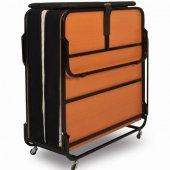 Niron Xl Katlanır Yatak Karyola Başlık Set Misafir Öğrenci Otel Ek Yatağı 90x200 Cm
