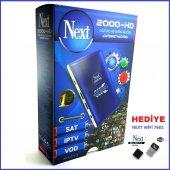 Next 2000 Hd Fullhd Mini Uydu Alıcısı(İnternet Machina)+next Wifi