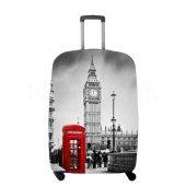 Valiz Kılıfı Londra Telefon Kulübesi Temalı My Luggage