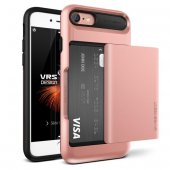 Verus Vrsdesıgn İphone 7 Damda Glide Series Kılıf Rose Gold