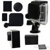 Gopro 3 3+ Uyumlu Lens Koruma Kapağı Ve Batarya Kapak Seti