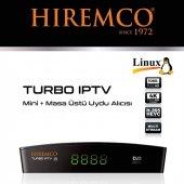 Hiremco Turbo Mini Hd Uydu Alıcısı + Wireless Anten Hediye