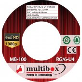 Multibox Mb 100 Rg 6 U4 Trishield Anten Kablo