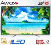 Awox S55140 55 Inch 140 Ekran Dahili Uydulu Full Hd Led Tv