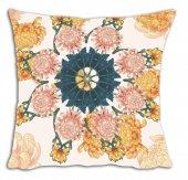 Mrs Pillow Andrea İ 04 Desenli Kırlent Kılıfı 70x70cm Ebadında
