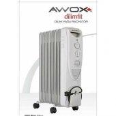 Awox Dilimfit 12 Dilim Yağlı Radyatör