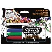 Sharpıe S0962141 Staıned Tekstıl Marker 4 Renk
