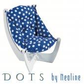 Lacivert Beyaz Dots By Neoline Koltuk