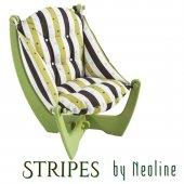 Yeşil Strıpes By Neoline Koltuk