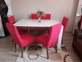 Nur Home Şeker Pembesi Renk Sandalye Kılıfı (Renk 14)