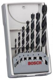 Bosch Ahşap Matkap Ucu Seti 7 Parçalı