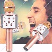 Ws 858 Sihirli Karaoke Mikrofon Bluetooth Kablosuz Hoparlör