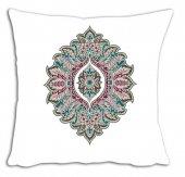 Mrs Pillow Andrea D 17 Desenli Kırlent Kılıfı 70x70cm Ebadında