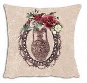 Mrs Pillow Andrea D 14 Desenli Kırlent Kılıfı 70x70cm Ebadında