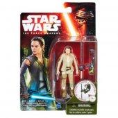 Hasbro Star Wars Figür Seri 2 Rey (Resistance Outfit)