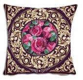 Mrs Pillow Andrea D 02 Desenli Kırlent Kılıfı 70x70cm Ebadında